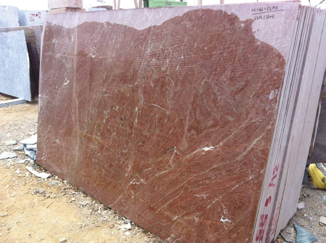 Cherry Marble Slabs Indian Red Marble Slabs