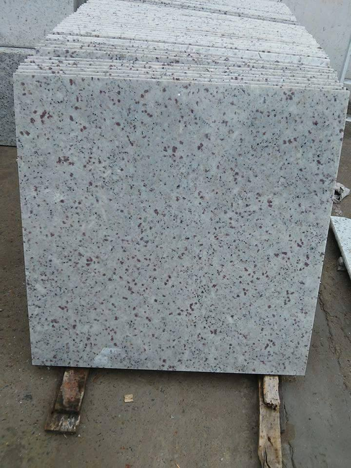 Chida White Granite Tiles Polished White Granite Tiles
