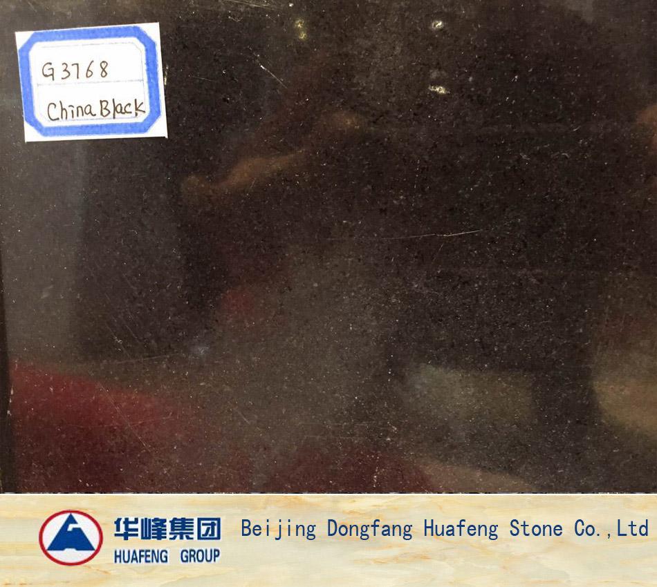 China Black Granite Tiles for Sales
