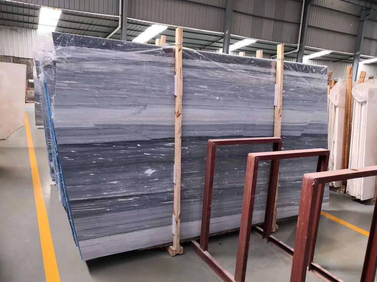 China Blue Sands Marble Marble Slabs and Tiles