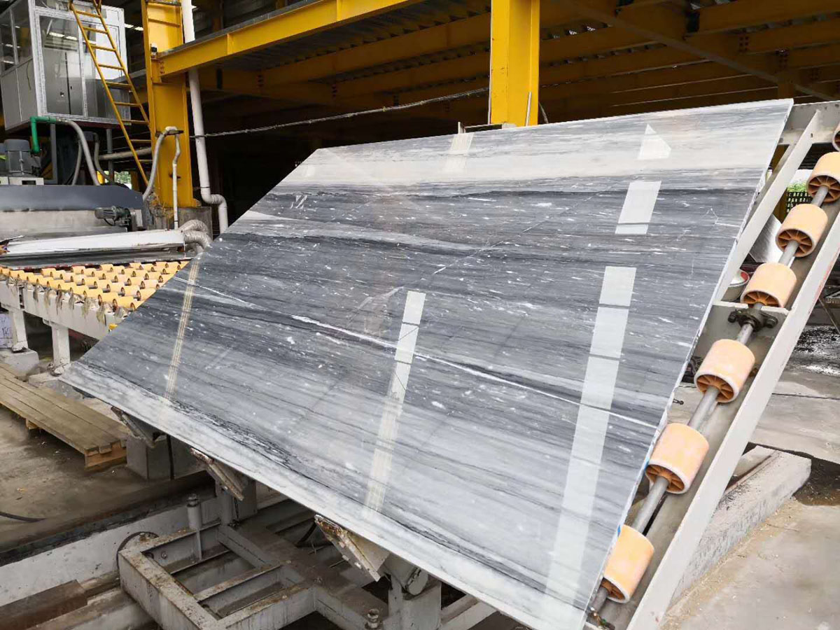 China Blue Sands Marble Marble Slabs for Kitchen Countertops