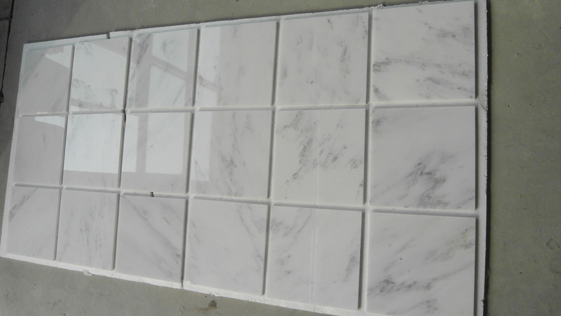 China Cararra Star White 10mm Marble Tiles