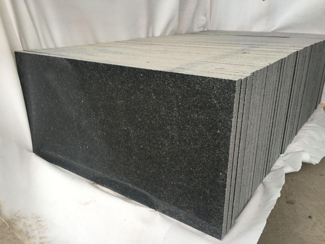 China Dark Grey Granite Tiles