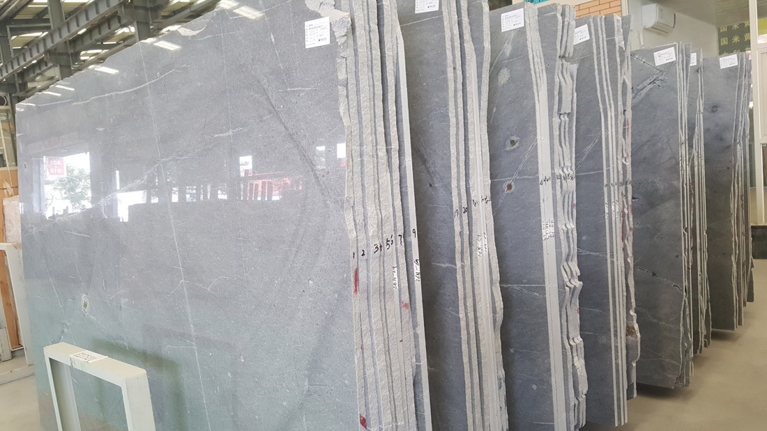 China Grey Galaxy Gray Silver Grey Marble Slabs