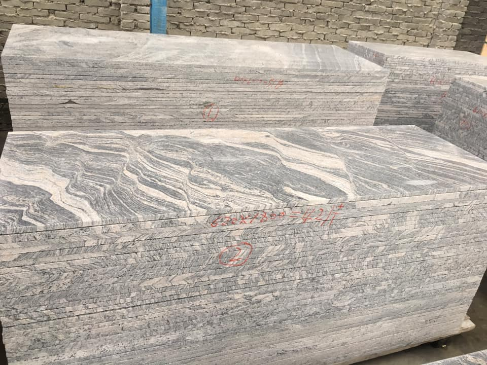 China Juparana Granite Slabs for Kitchen Countertops