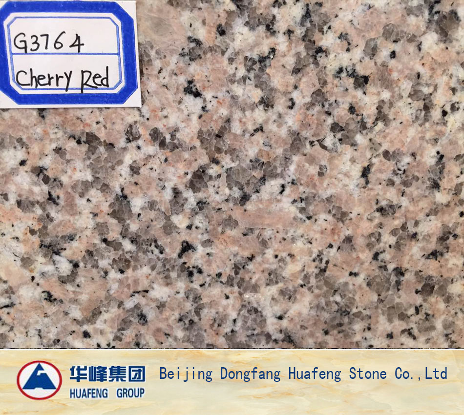 China Multicolor Red Granite Wall Covering Tiles