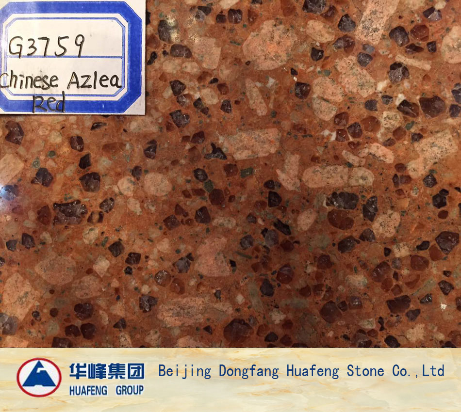 China Multicolor Red Polished Granite Wall Covering