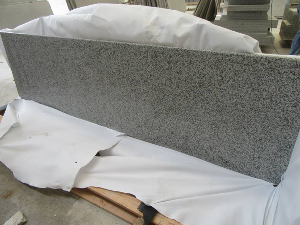 China Rosa Beta Granite Grey Polished Countertops for Kitchen