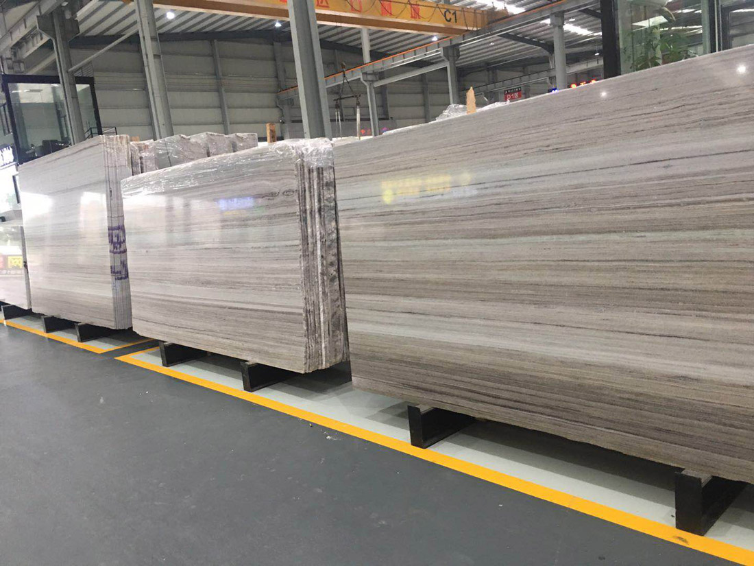 China White Galaxy Marble Slabs with High Quality