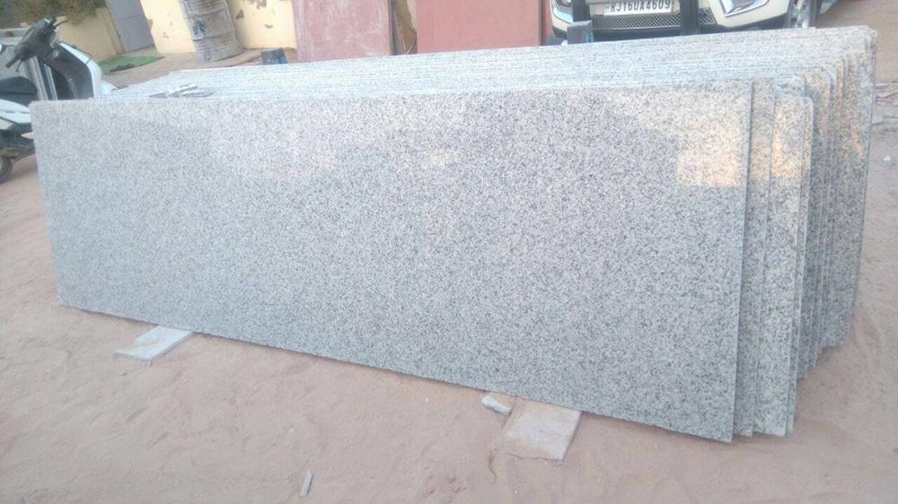 China White Granite Polished White Granite Slabs for Countertops