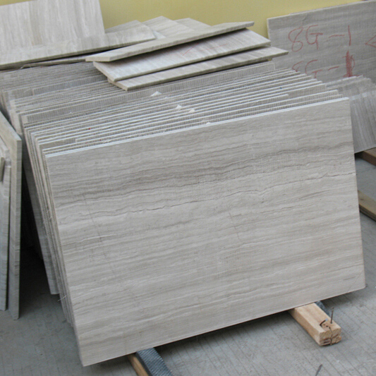 China Wooden Grey Marble Tiles Grey Marble Flooring Tiles