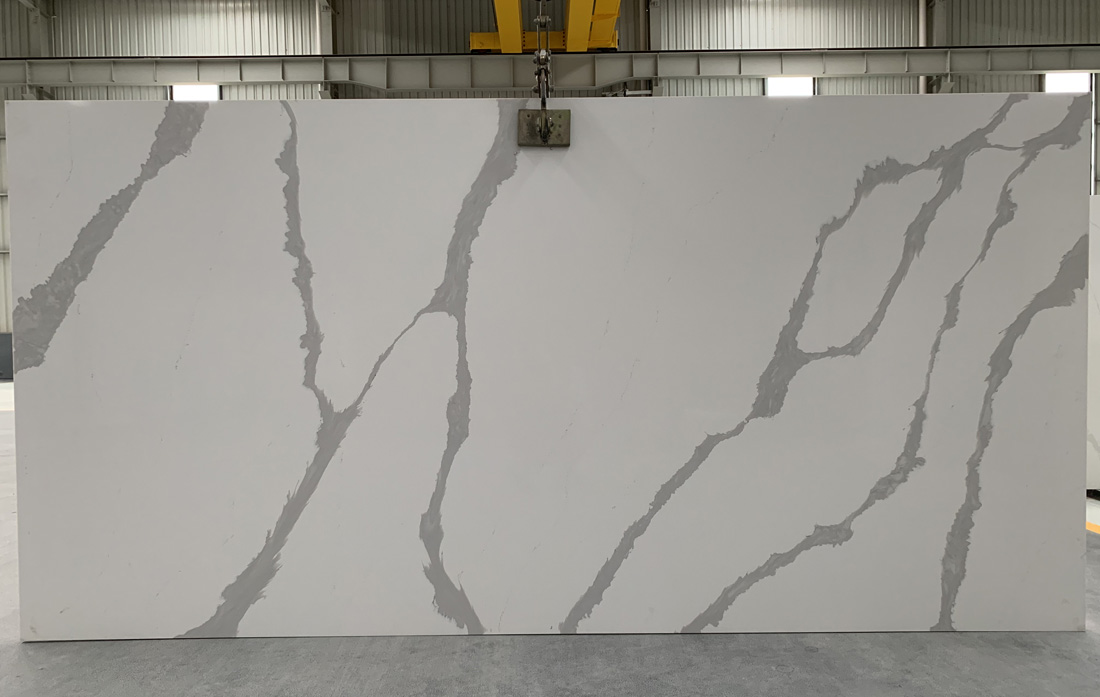 China calacatta quartz slab 8812