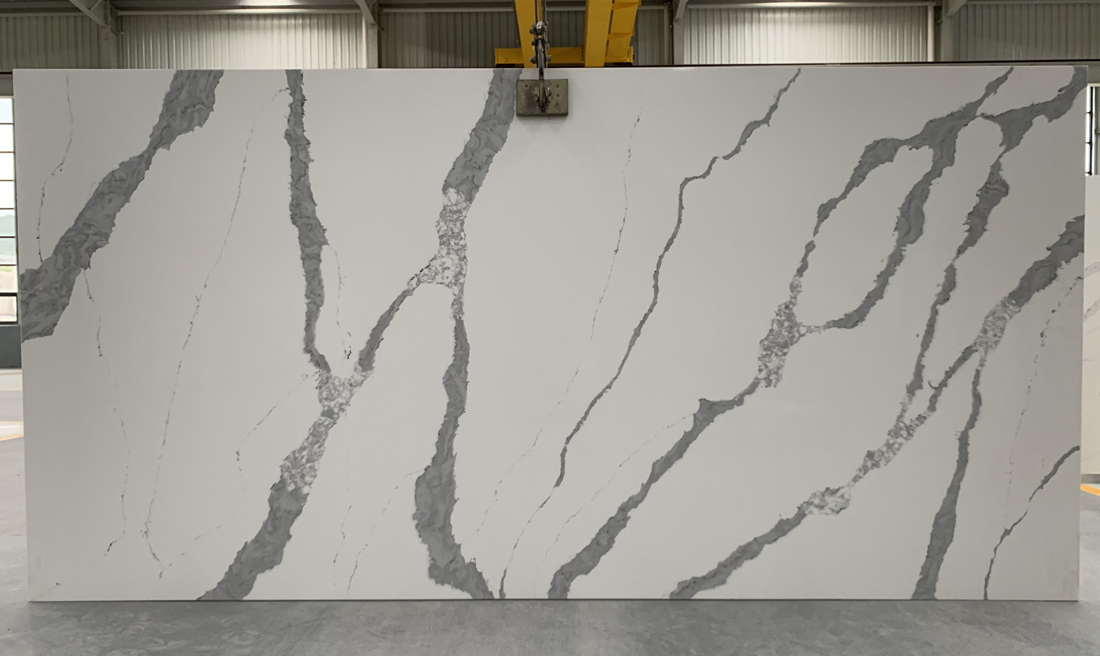 China calacatta quartz slab 8819