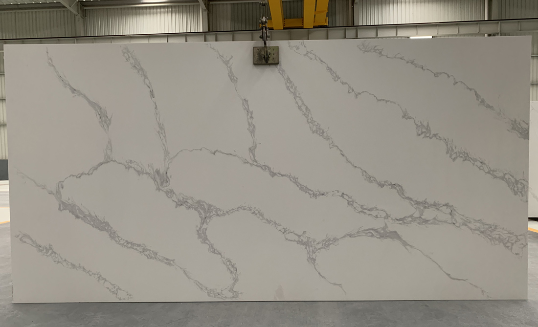 China calacatta quartz slab 8822