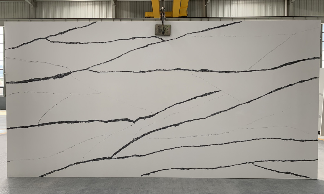 China calacatta quartz slab 8826 2