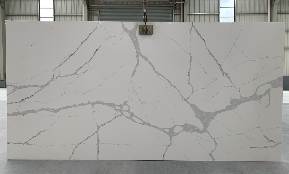 China calacatta quartz slab 8831