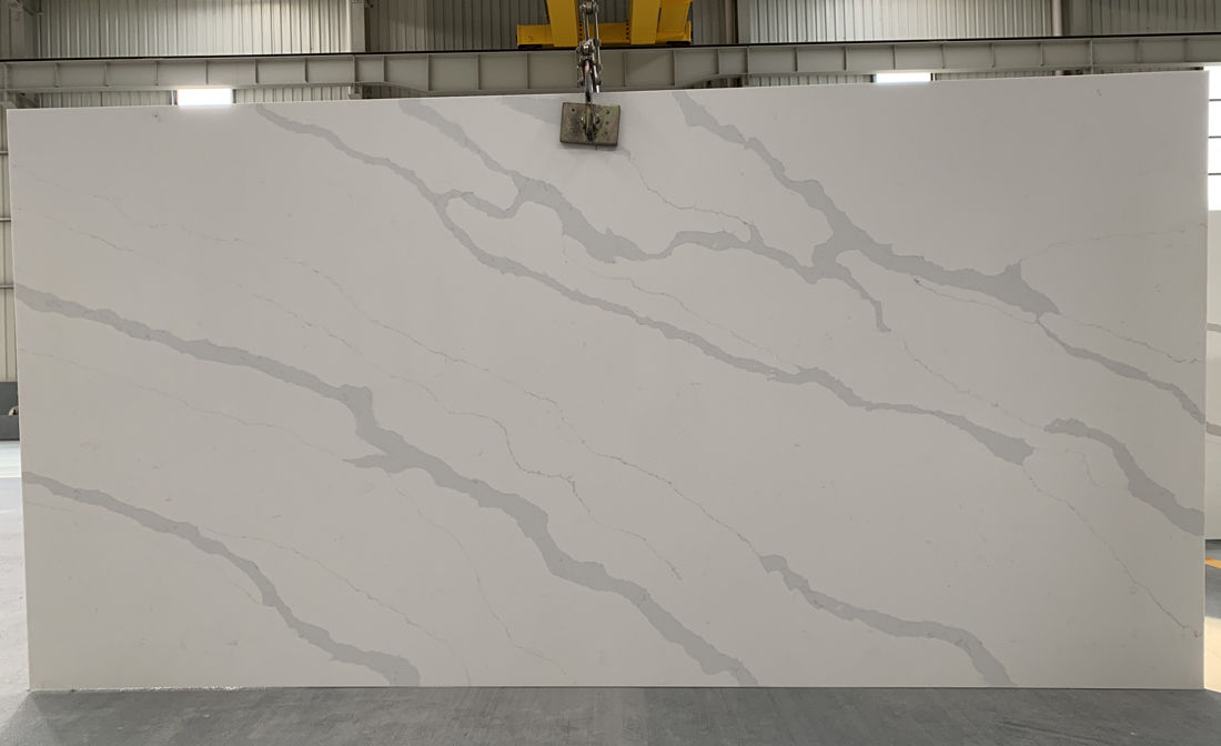 China calacatta quartz slab 8833