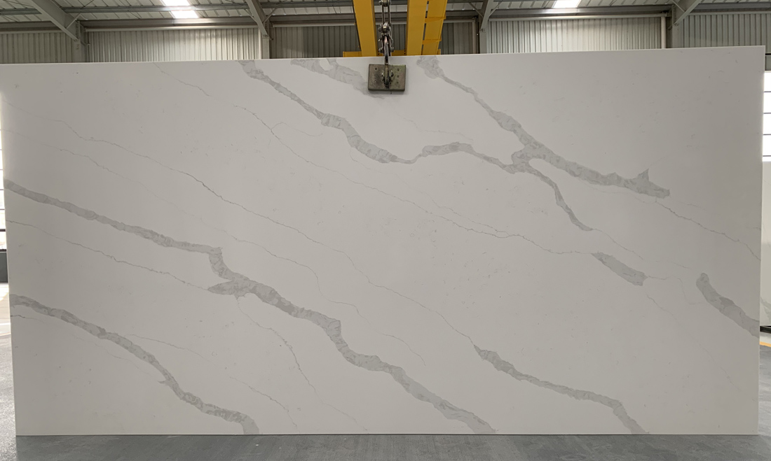 China calacatta quartz slab 8836