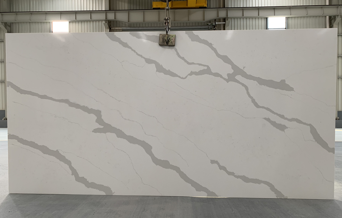 China calacatta quartz slab 8836 2