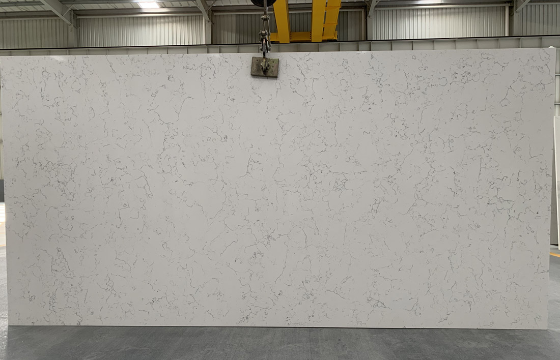 China carrara quartz slab 5112