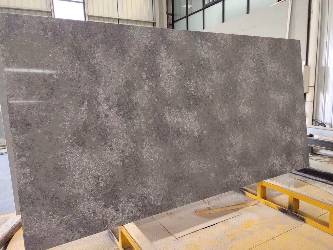 China polychromatic board quartz slab apex