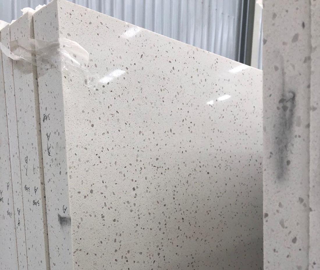 China Quartz sand quartz slab 3108a