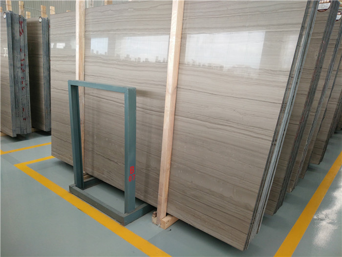 Chinese Athens Wood Grain Marble Polished Marble Slabs