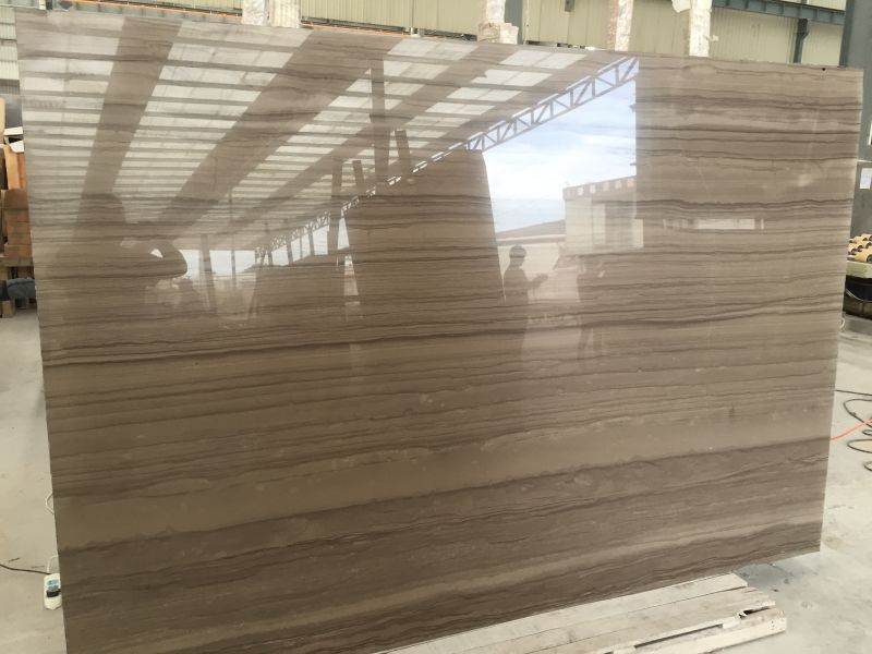 Chinese Athens Wood Grain Marble Slabs