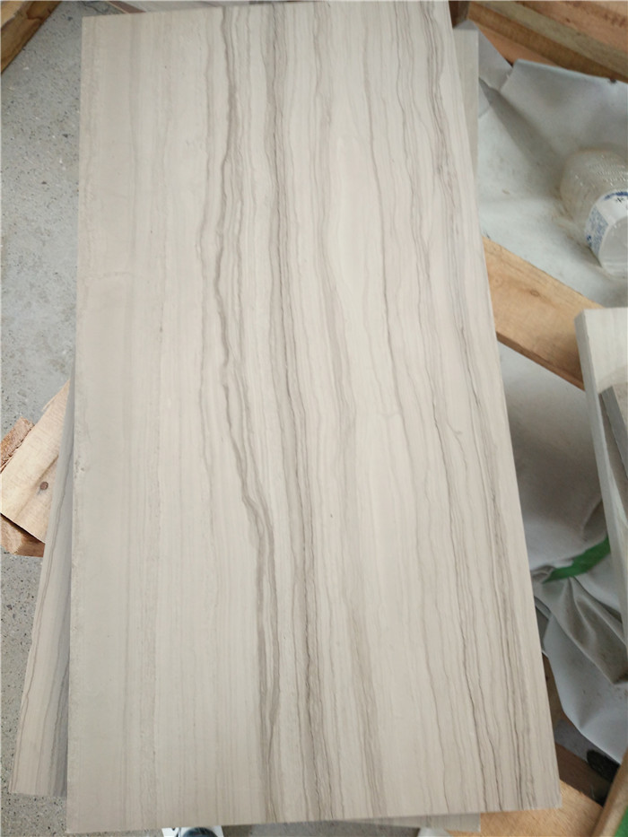 Chinese Athens Wood Grain Marble Tiles