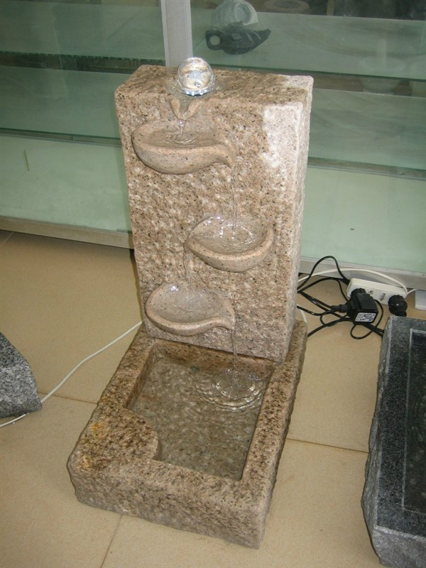 Chinese Beige Granite Fountains