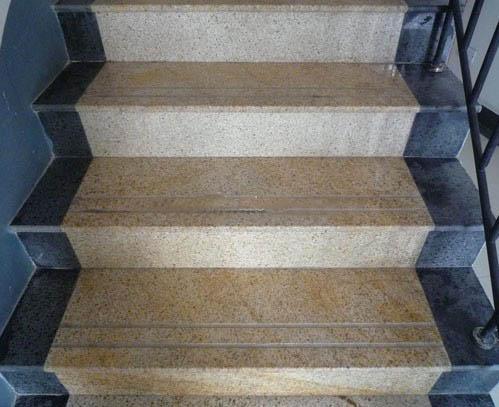 Chinese Beige Granite Stone Steps