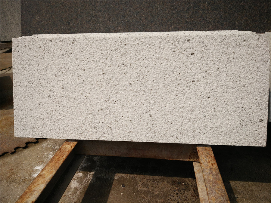 Chinese Bethel White Granite Stairs and Steps