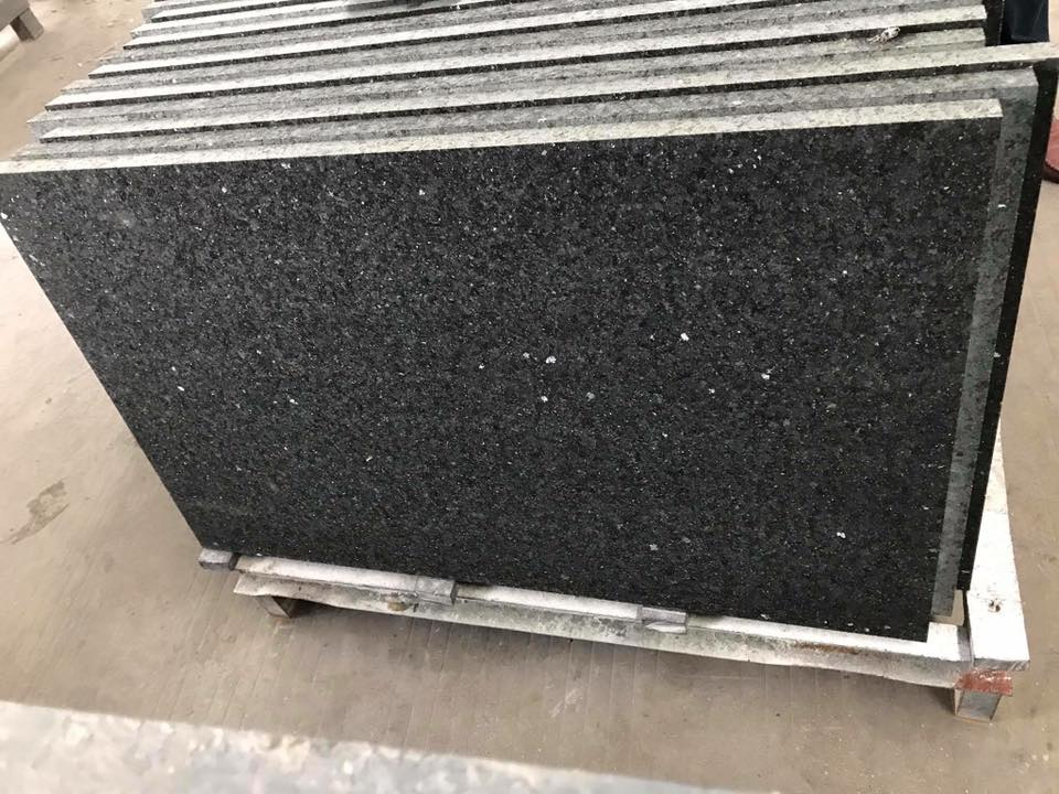 Chinese Black Diamond Granite Tiles