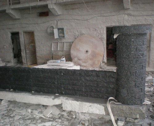 Chinese Black Wall Stone