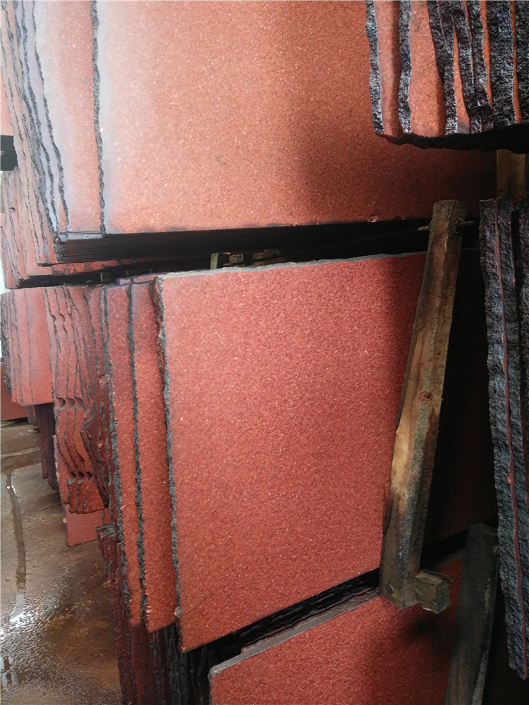 Chinese Dyed Red Granite Countertops