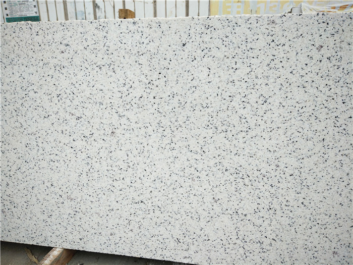 Chinese Electrolytic White Hemp Granite Slabs