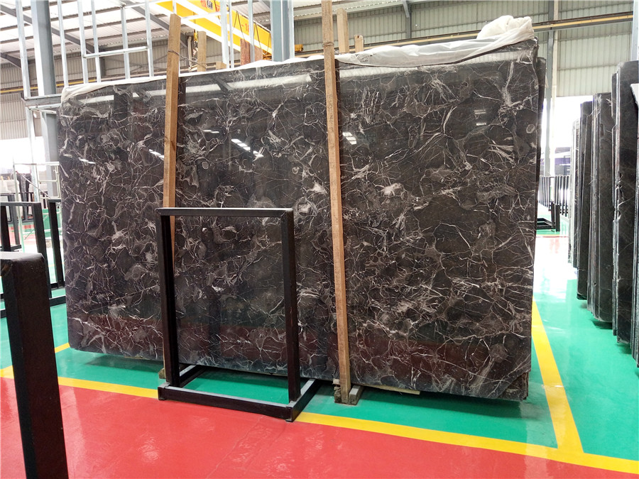 Chinese Emperador Marble Slabs Polished Brown Marble Slabs