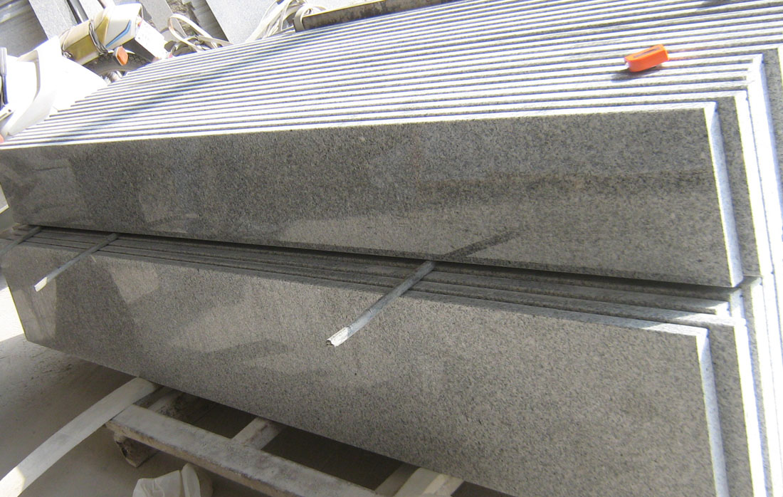 Chinese G603 Granite Polished Step