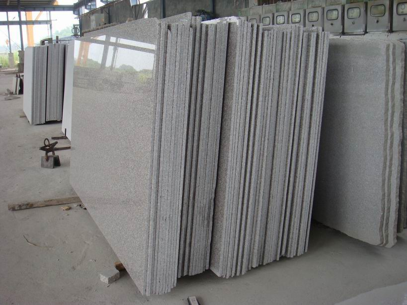 Chinese G636 Polished Granite Slabs