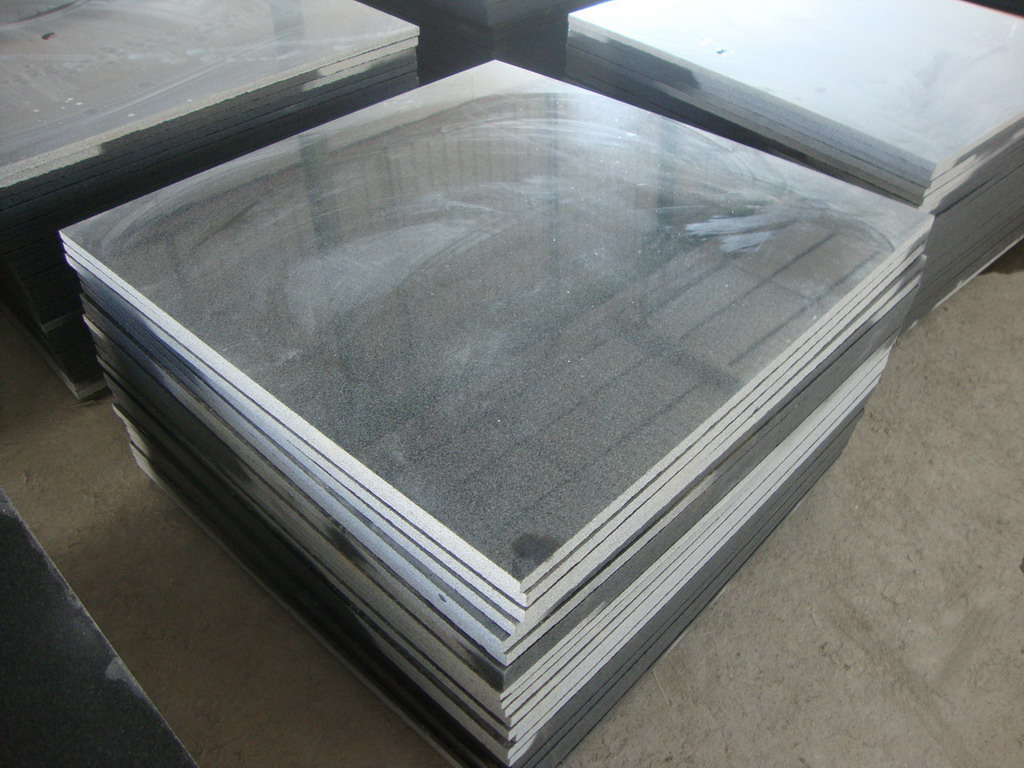 Chinese G654 Dark Grey Granite Tiles