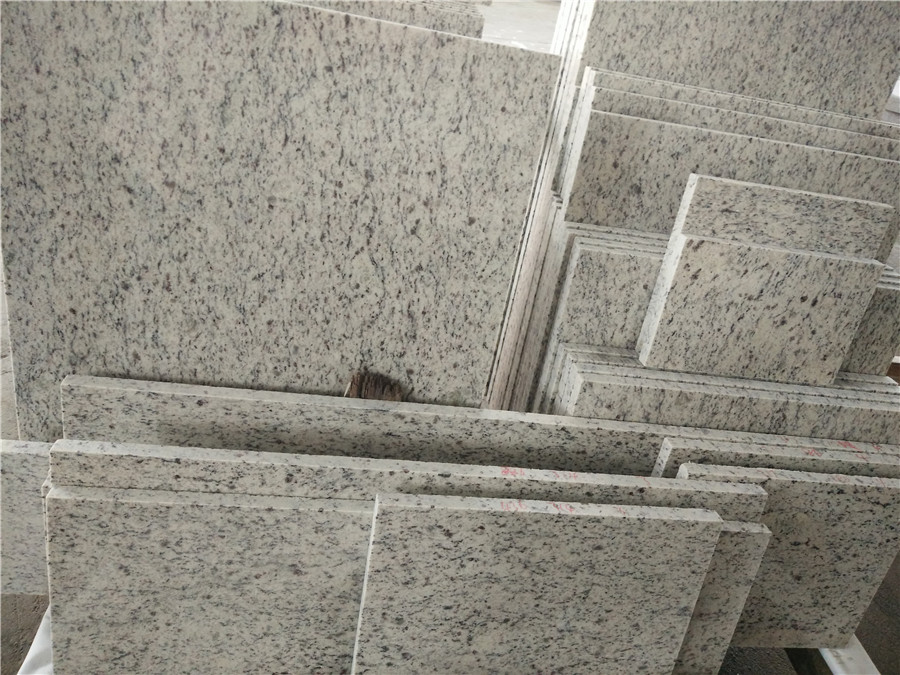 Chinese Giallo San Francisco Granite Tiles with Different Size