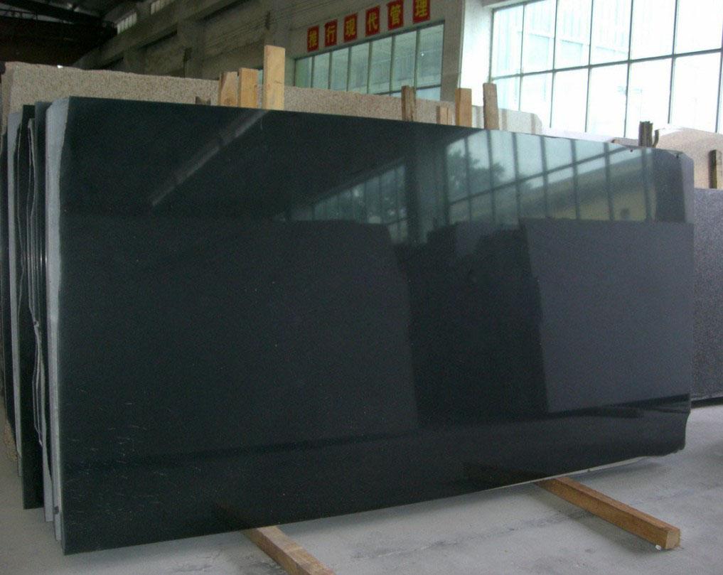 Chinese Granite Hebei Black Granite Slabs