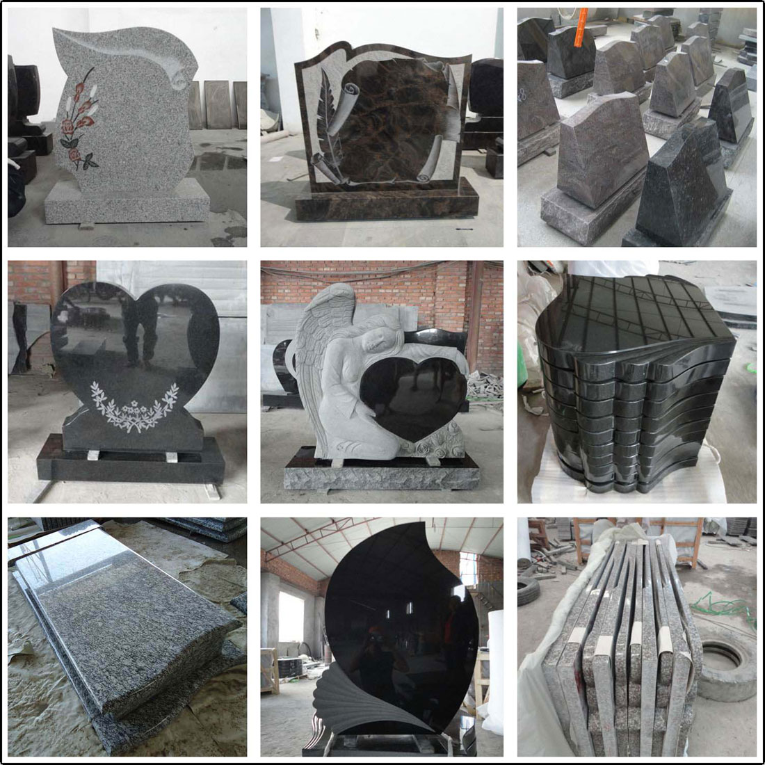 Chinese Granite Tombstone and Monuments