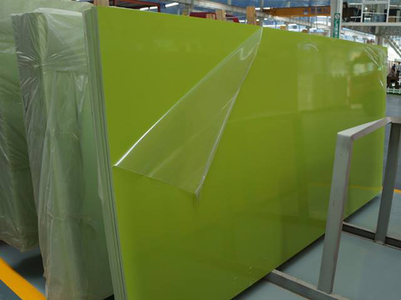 Chinese Green Quartz Slabs Artificial Stone Slabs
