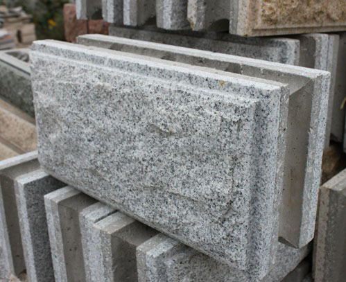 Chinese Grey Granite Mushroom Wall Stone with Competitive Price