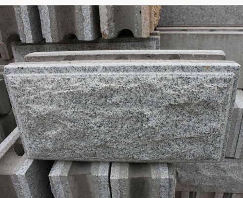 Chinese Grey Granite Mushroom Wall Stone