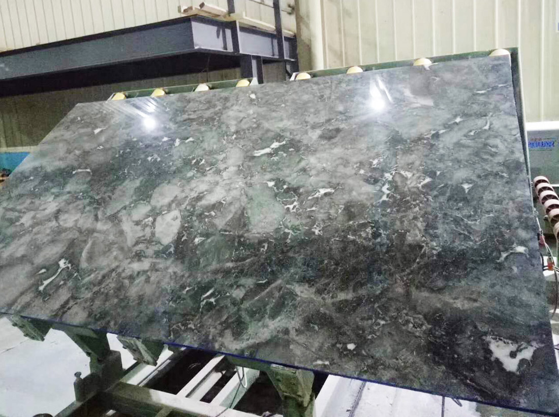 Chinese Grey Marble Slabs Romantic Gray Slabs