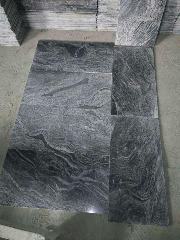 Chinese Juparana Black Granite Tiles