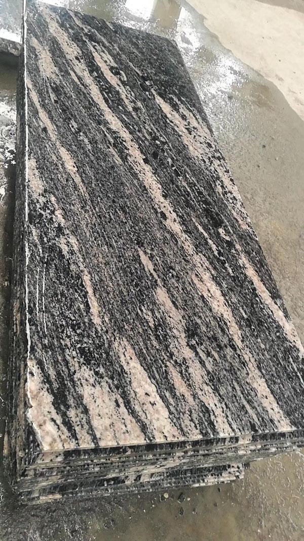 Chinese Juparana Gold Granite Slabs