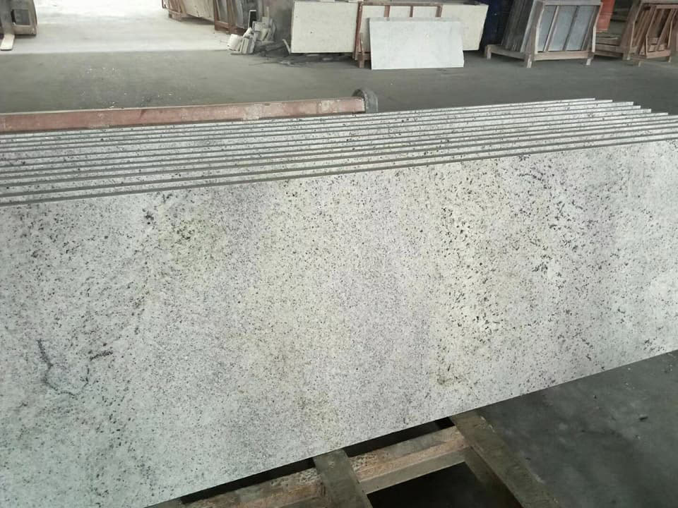 Chinese Kashmir White Polished Granite Countertops